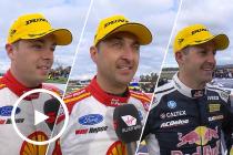 Top Three Interviewed: Race 14 2019 Winton