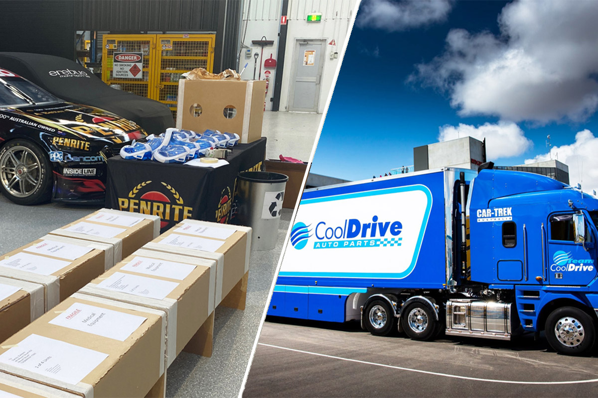 CoolDrive to distribute Erebus medical supplies