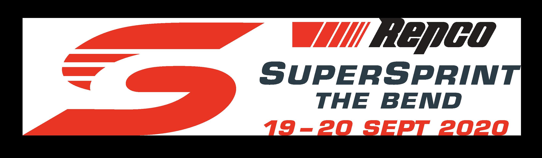 V8 Supercars - Repco SuperSprint The Bend logo