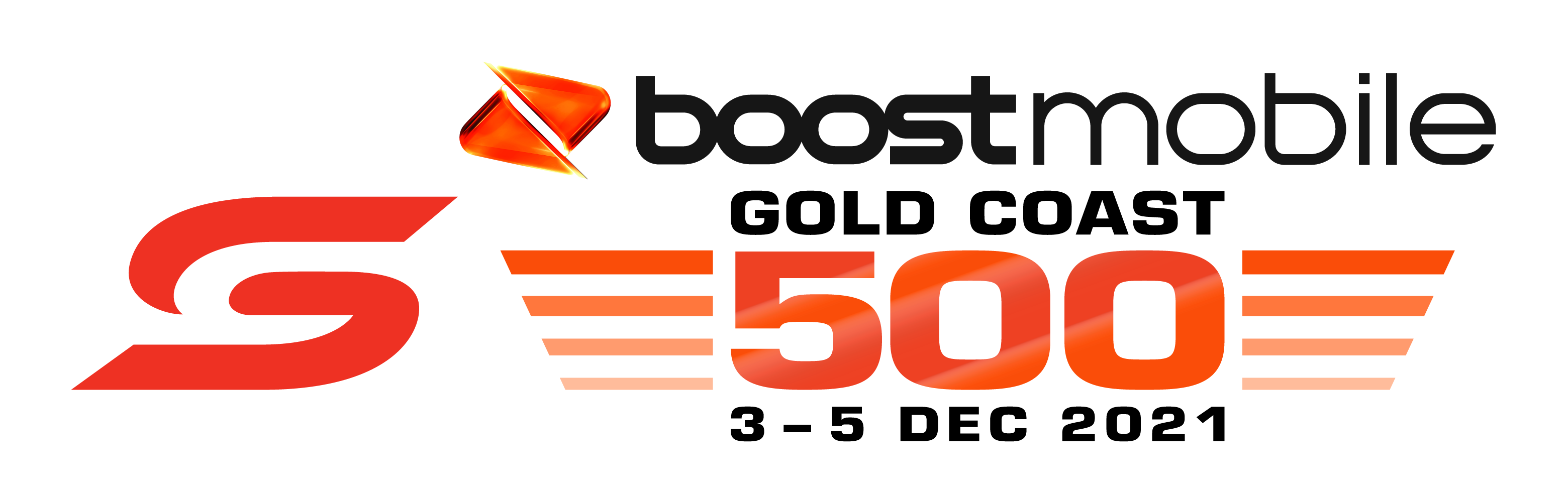 V8 Supercars - Boost Mobile Gold Coast 500 logo