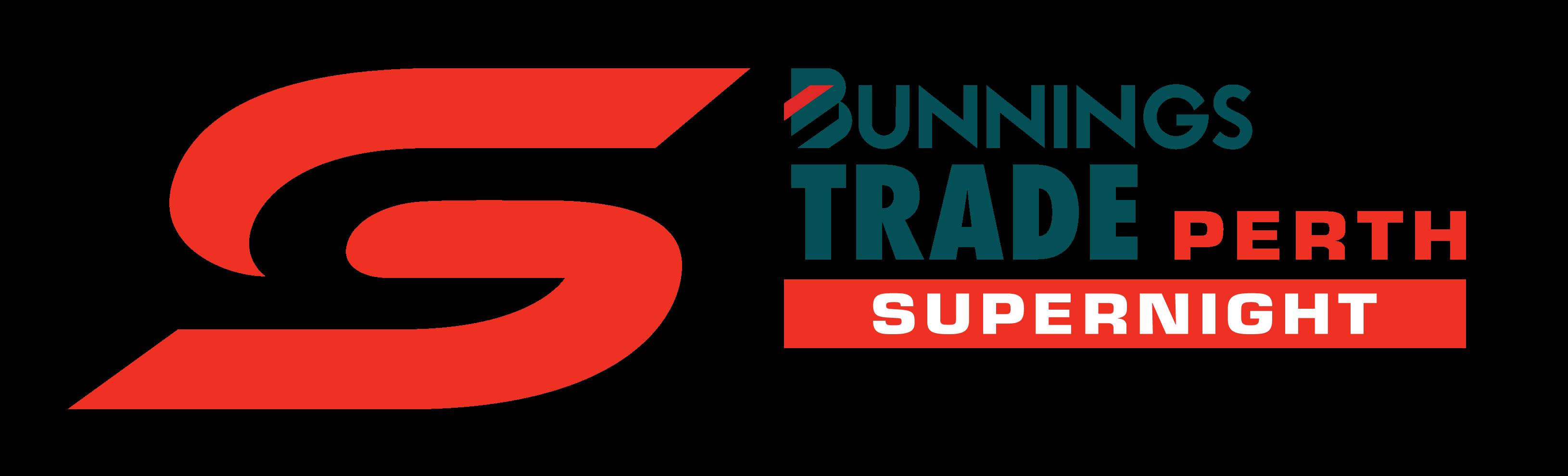 V8 Supercars - Bunnings Trade Perth SuperNight logo