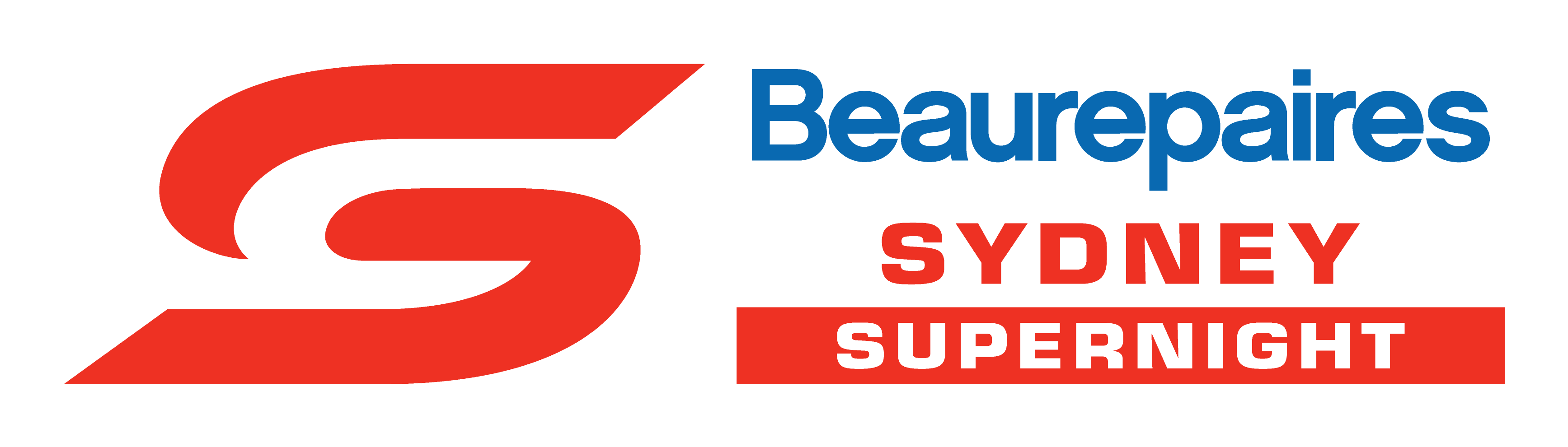 V8 Supercars - Beaurepaires Sydney logo