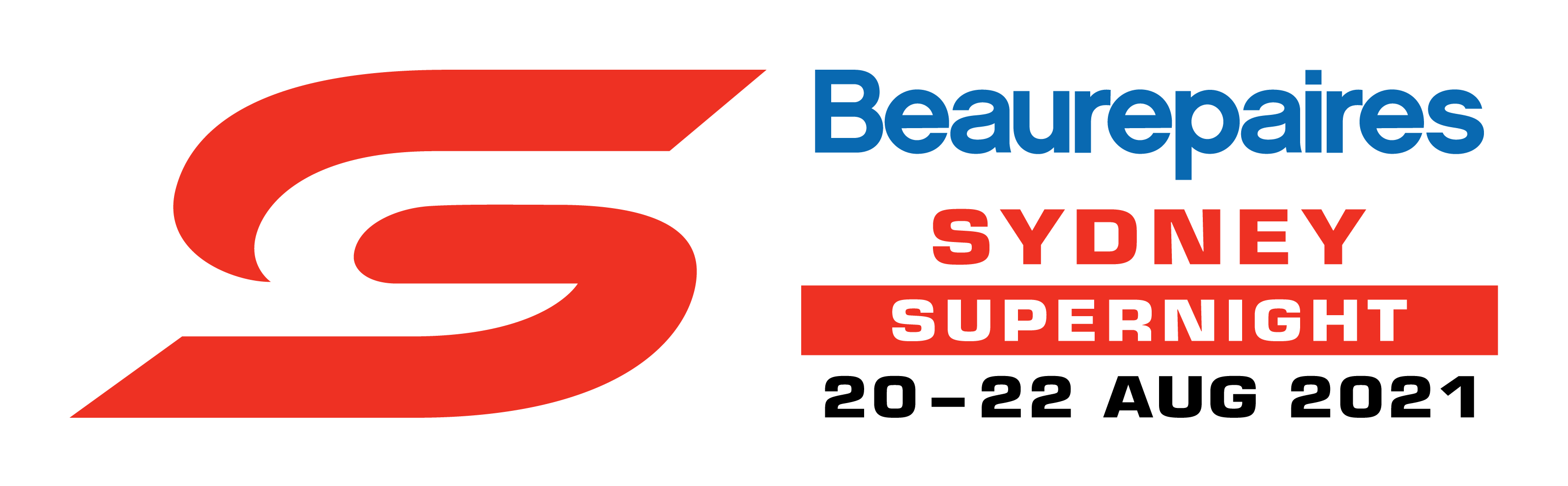 V8 Supercars - Beaurepaires Sydney SuperNight logo