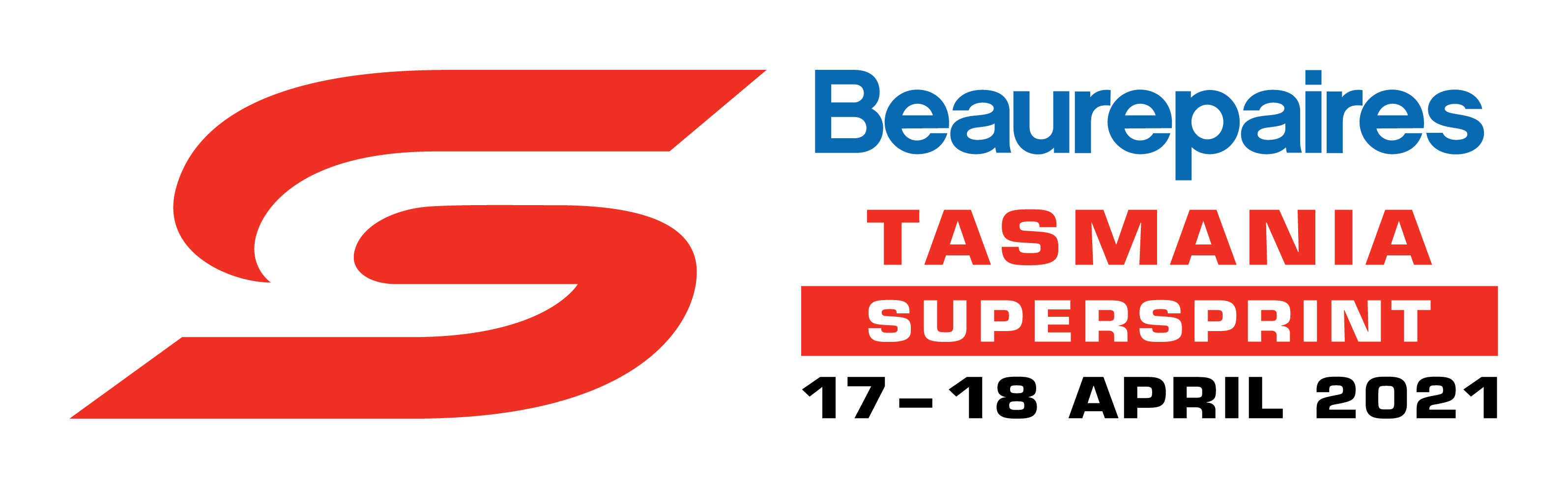 V8 Supercars - Beaurepaires Tasmania SuperSprint logo