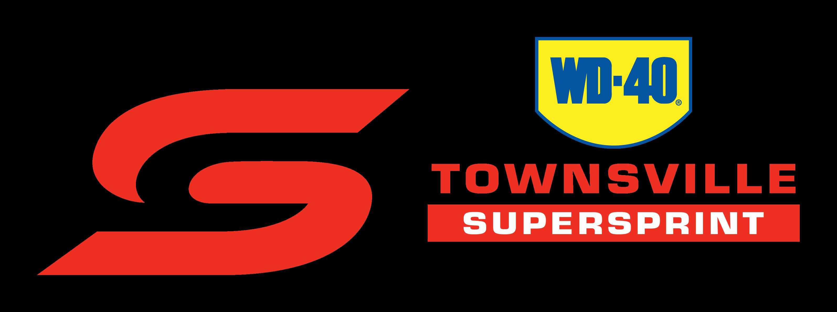 V8 Supercars - WD-40 Townsville SuperSprint logo