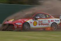 Davison goes airborne in four-way stoush