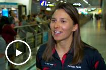 Simona arrives in Australia