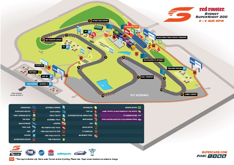SMP Track Map