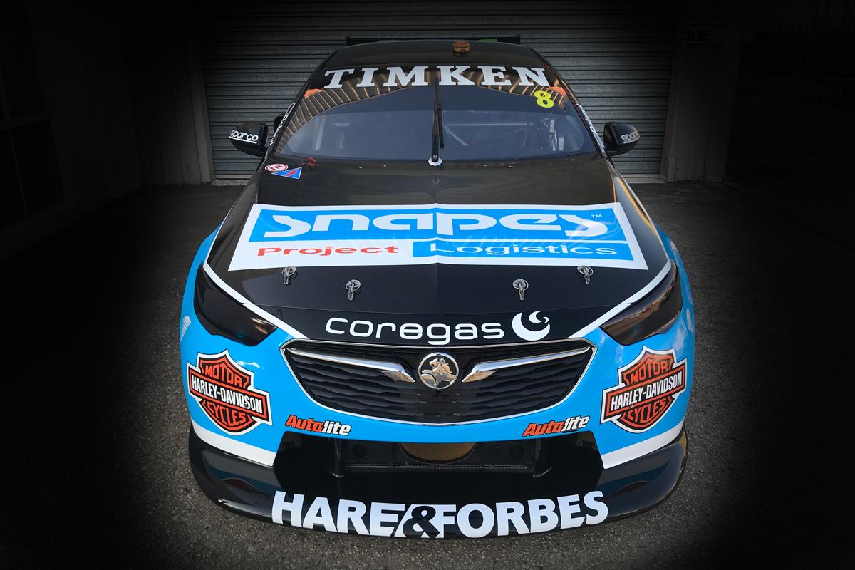 Fresh Sponsor For Percat Jones Holden Supercars
