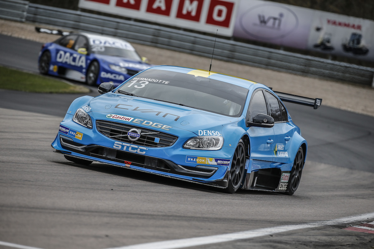 Scott McLaughlin polestar STCC 2016