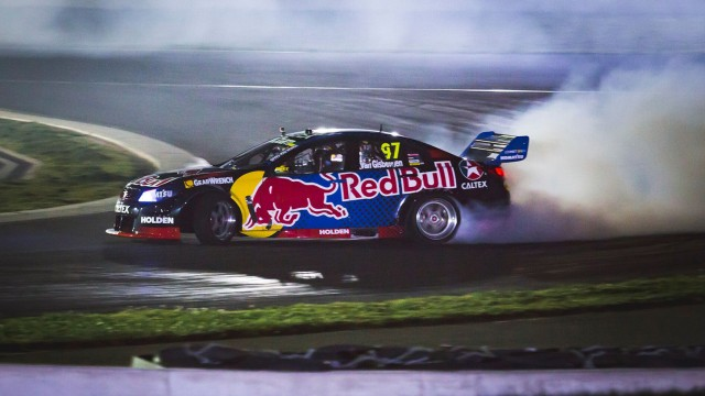Van Gisbergen drifts through the night