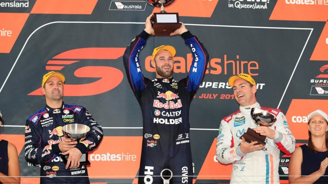 Van Gisbergen spoils the party