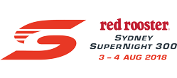 V8 Supercars - 2018 Red Rooster Sydney SuperNight 300 logo
