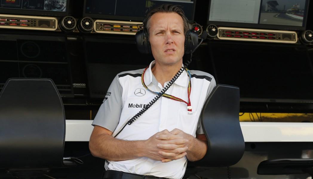 Sam Michael during his time at McLaren
