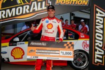 McLaughlin blitzes Shootout for Race 14 pole