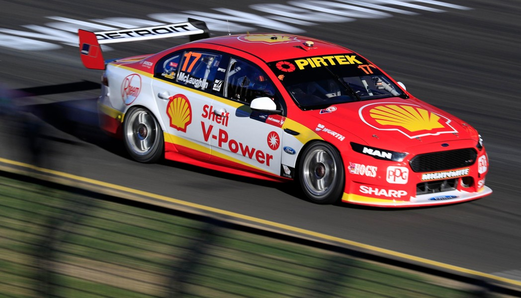 Scott McLaughlin Practice 2 2017 Red Rooster Sydney SuperSprint