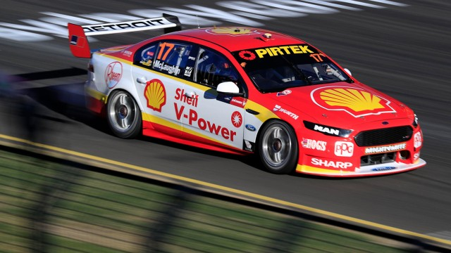 Fords show the way in Friday practice