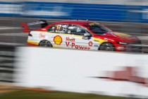 McLaughlin fastest as Coulthard misses Shootout