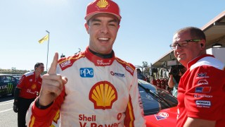 McLaughlin survives scare to score 10th pole