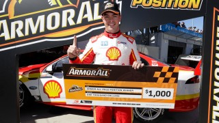 McLaughlin hangs on in tight Race 8 qualifying