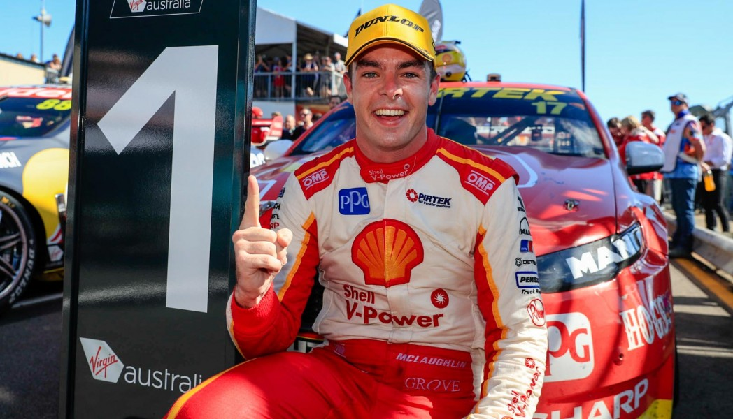 Scott McLaughlin Race 12 2017 CrownBet Darwin Triple Crown