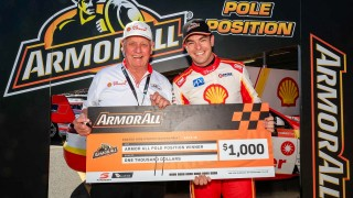 McLaughlin scorches to fifth straight pole