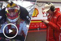 Team cuts short McLaughlin's onboard commentary
