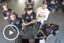 Inside the Red Bull bunker