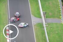 Race contenders crash out