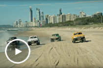 Supercheap Auto takes to the beach