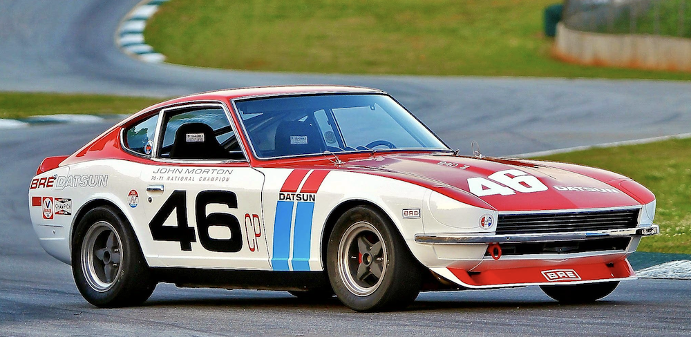 A BRE Datsun from 1970/71