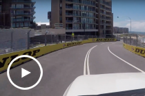 A lap around the Newcastle Street Circuit