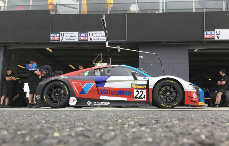The #22 Audi that Tander will co-drive