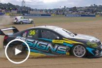 Walsh spears off at The Chase after collision