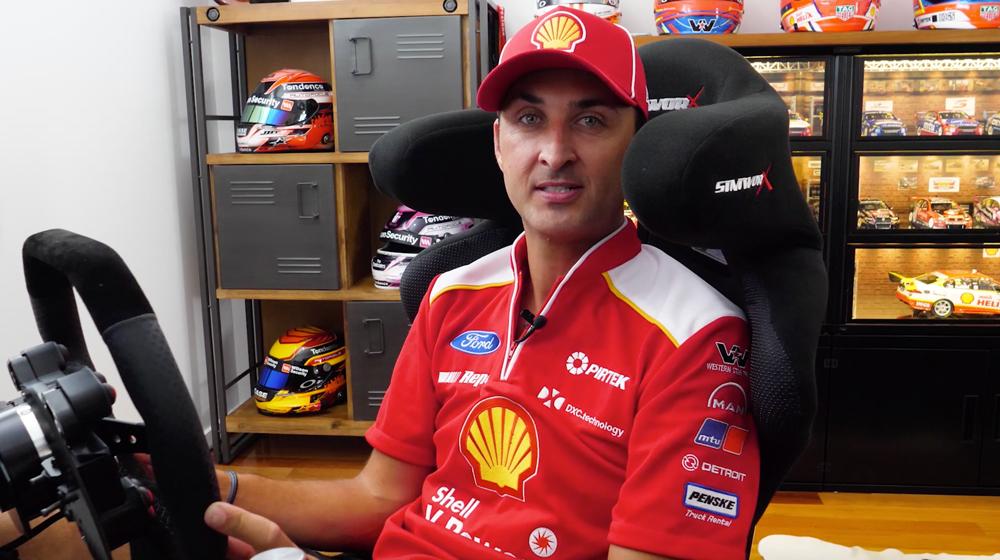 Fabian Coulthard's simulator tour