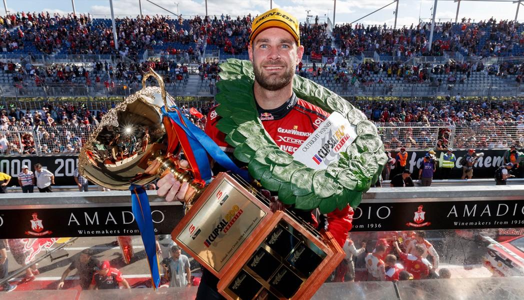 Shane van Gisbergen Race 2 2017 Clipsal 500 Adelaide