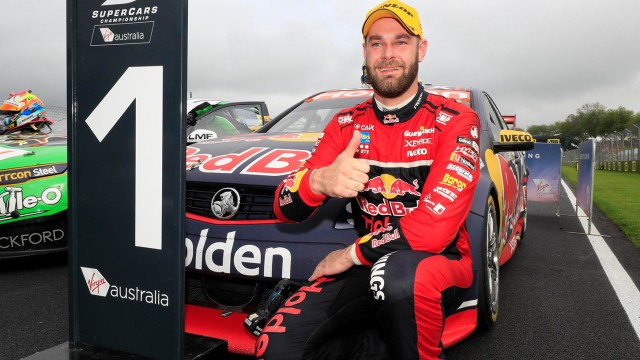 Van Gisbergen wins, Coulthard flips in Race 23