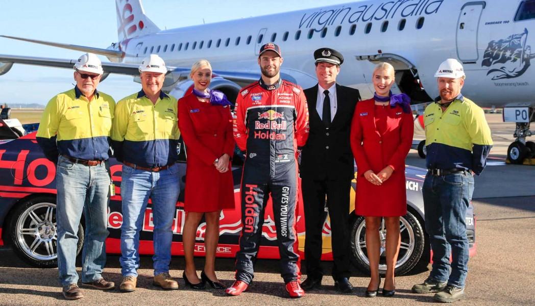 Shane van Gisbergen Virgin Australia