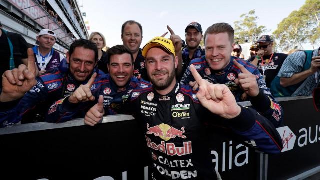 Shane van Gisbergen wins Championship