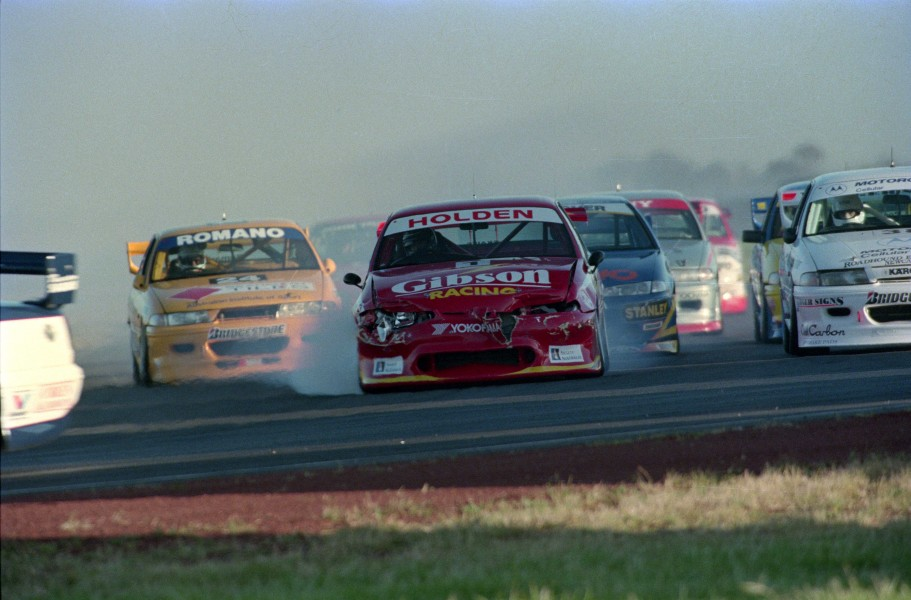 Skaife was a victim of opening lap carnage in Race 1