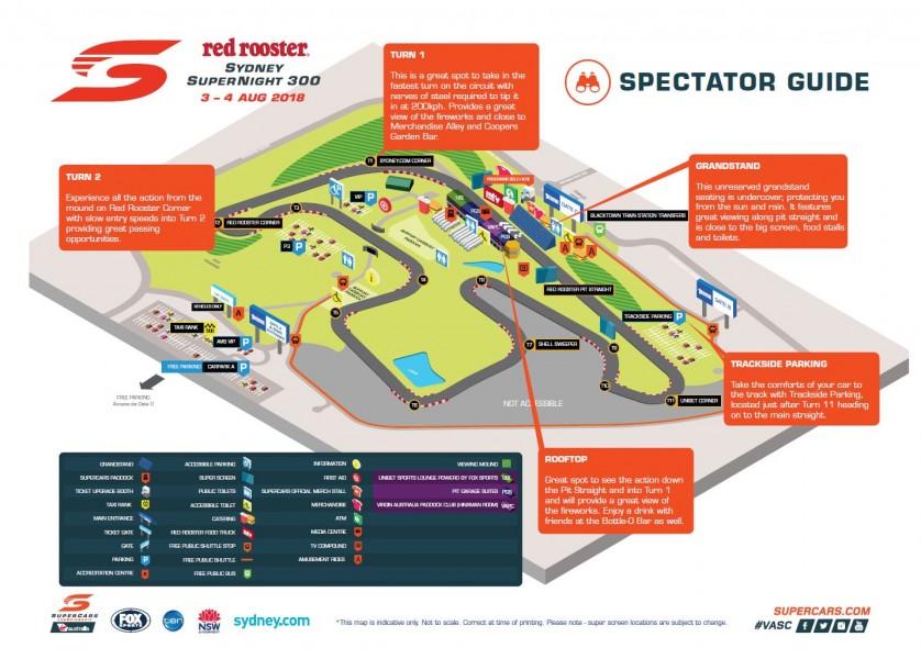 Spectator Guide