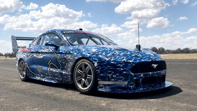 Mustang scores Supercars sign-off after aero test