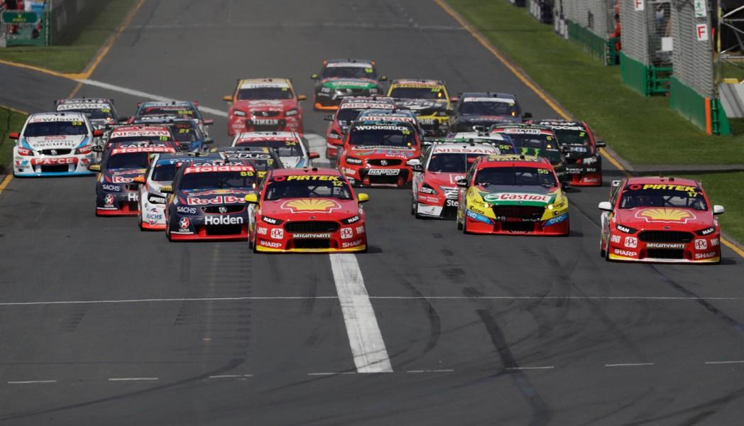 Start Race 1 2017 Australian Grand Prix