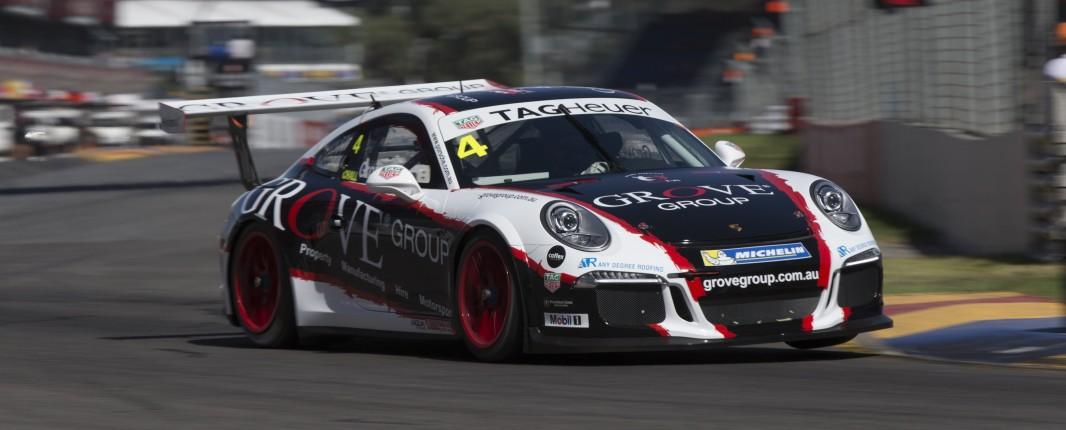 Slade will co-drive Grove's Porsche