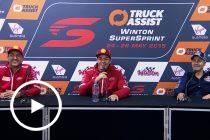 Sunday Press Conference: 2019 Truck Assist Winton SuperSprint