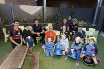 Drivers visit Ronald McDonald House ahead of Ipswich SuperSprint