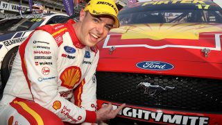 McLaughlin kept pledge on beating NASCAR Mustang
