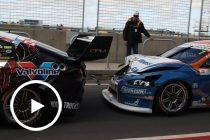 Pit entry 'drilling' hurt Tander's neck