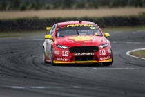 Coulthard felt left-rear trouble early