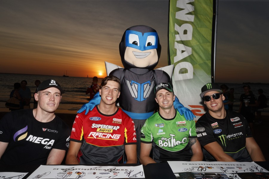 Event 7 of the Virgin Australia Supercars Championship, CrownBet Darwin Triple Crown, Darwin, NT. June 15th to 17th 2018